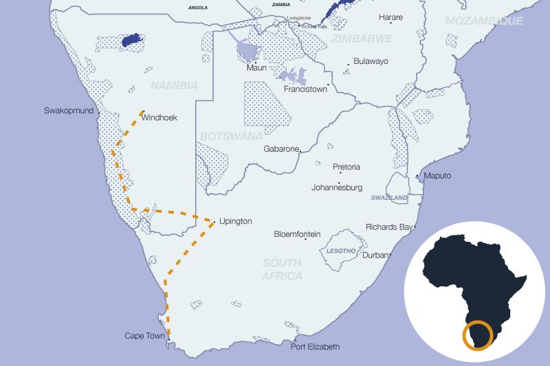Road trip sur la cote ouest du continent