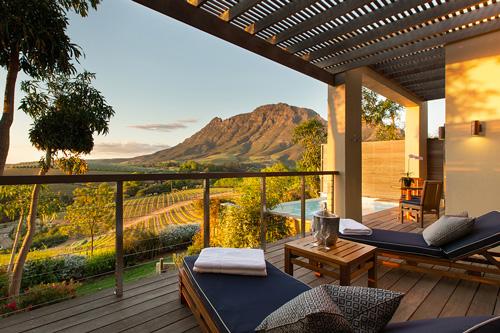 Hébergement de luxe avec Mungo park en afrique du Sud