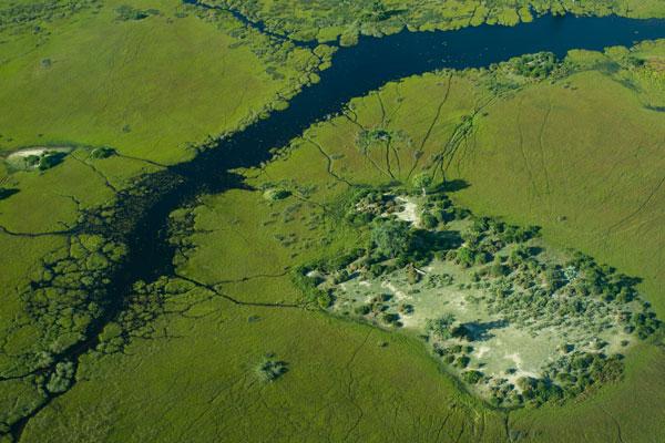 visite Delta Okavango Botswana Afrique animaux