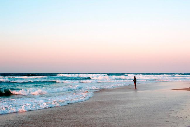 Des vacances à la plage avec Mungo Park