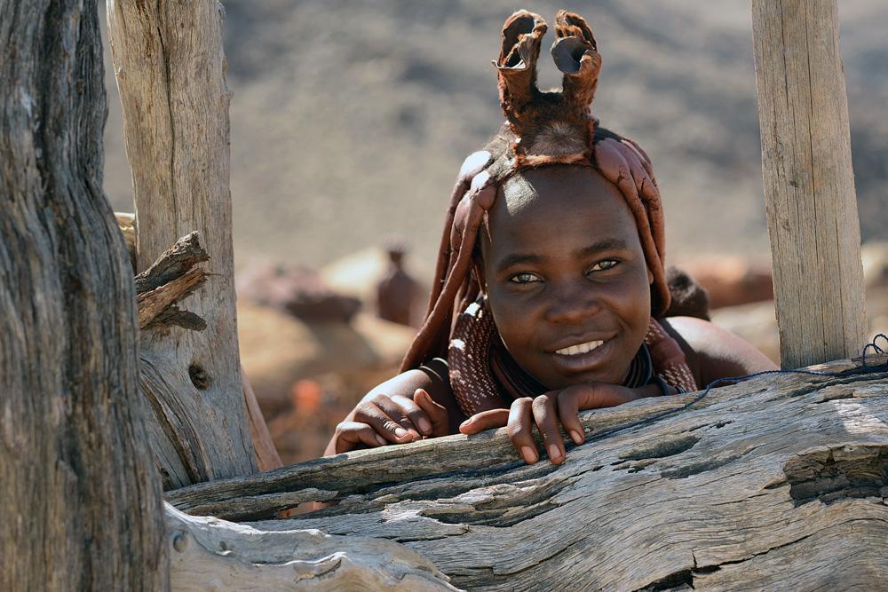 Himba en Namibie