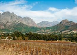 Franschoek en Afrique du Sud