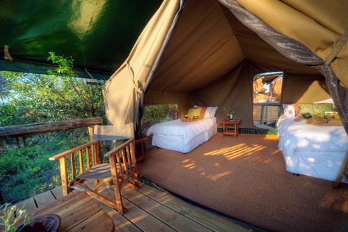 Tente safari botswana Mungo Park