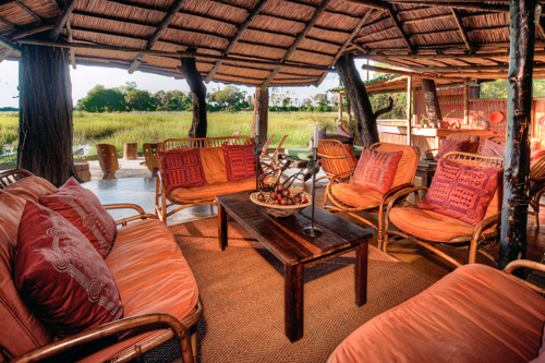 Lodge Safari Delta Botswana Mungo Park
