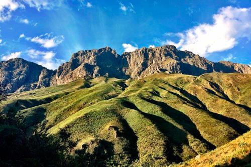 incroyable montagnes en afrique du sud avec Mungo Park