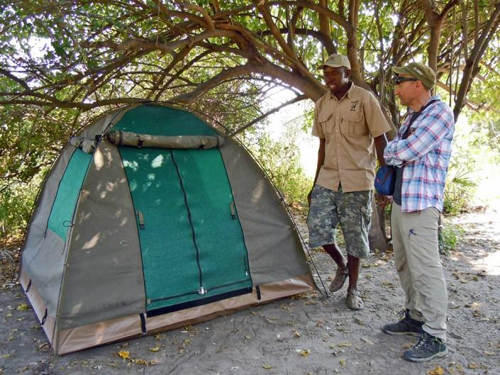 Les tentes – juste ce qu'il faut et pas plus