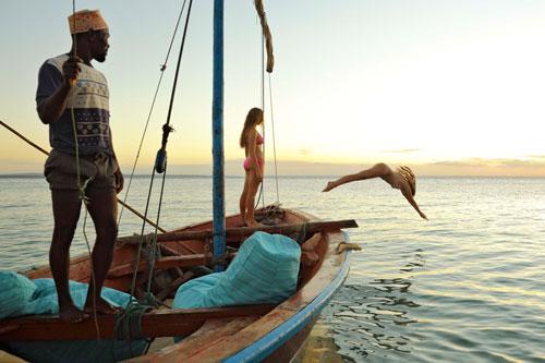 dhow safari mozambique séjour plage luxe
