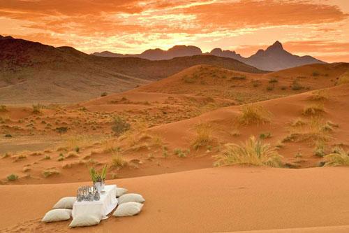 safari dunes de sable luxe insolite afrique namibie