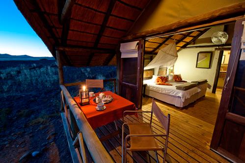 Kulala Desert Lodge, safari en Namibie avec Mungo Park