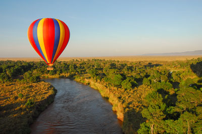 montgolfier maasai mara safari luxe sur mesure