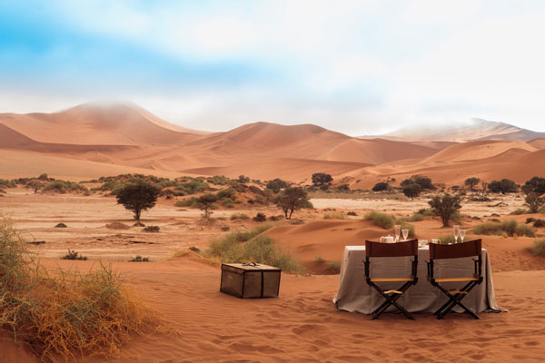 explorer le désert du namib et les dunes de sable