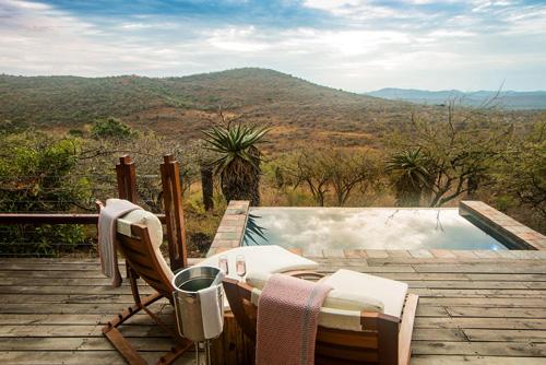 Rhino Ridge Lodge dans la reserve animaliere de Hluhluwe iMfolozi en Afrique du Sud