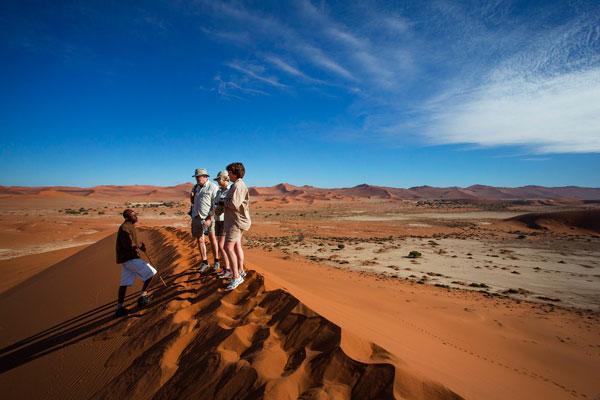 visiter Namibie dunes activité sossusvlei