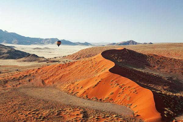 visiter Namibie dunes activités