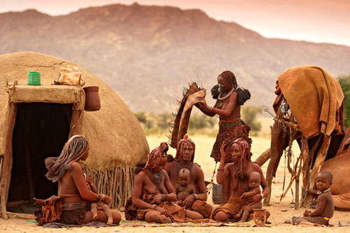 Tribu Himba Safari Authentique Namibie